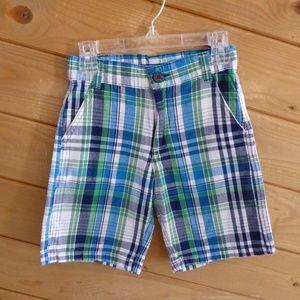 U.S. Polo Assn. Blue Check Shorts Pants Boy 6T